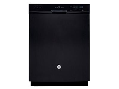 """24"""" GE Built-In Dishwasher with Stainless Steel Tall Tub - GBF630SGLBB"""