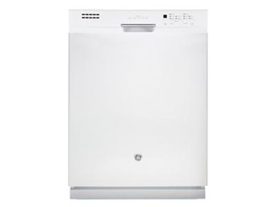 """24"""" GE Built-In Dishwasher with Stainless Steel Tall Tub - GBF630SGLWW"""