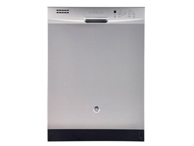 """24"""" GE Built-In Dishwasher with Stainless Steel Tall Tub - GBF630SSLSS"""