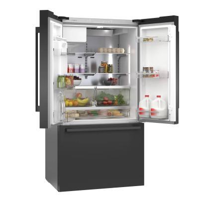 "36"" Bosch French Door Refrigerator Thru Door Ice Dispenser - B36CD50SNB"