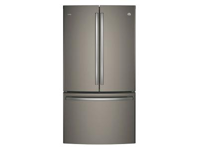 "36"" GE Profile ENERGY STAR 23.1 Cu. Ft. Counter Depth French-Door Refrigerator with Internal Water Dispenser - PWE23KMKES"