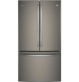 "36"" GE Profile ENERGY STAR 23.1 Cu. Ft. Counter Depth French-Door Refrigerator with Internal Water Dispenser - PWE23KMKES"