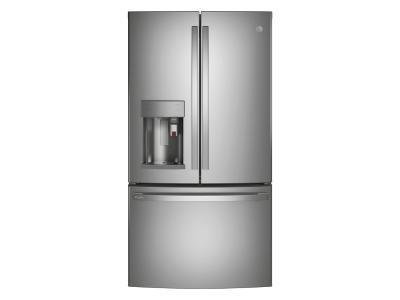 "36"" GE Profile 22.1 Cu. Ft. Counter-depth French-door Refrigerator - PYE22PYNFS"