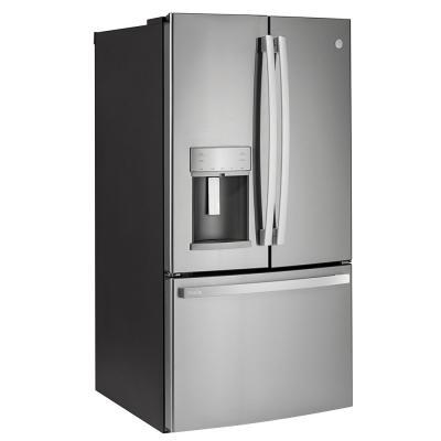 "36"" GE Profile 22.1 Cu. Ft. Counter-depth French-door Refrigerator - PYD22KYNFS"