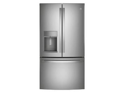 "36"" GE Profile 22.1 Cu. Ft. Counter-depth French-door Refrigerator - PYD22KYNFS"