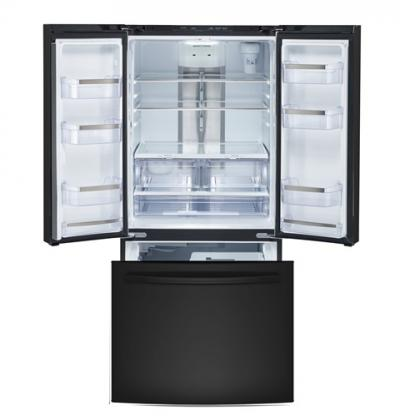 """33"""" GE Profile 24.5 cu.ft. French Door Bottom-Mount, w/Factory Installed Icemaker - PNE25NGLKBB"""