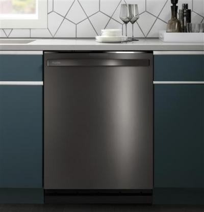 """24"""" GE Profile Stainless Steel Interior Dishwasher with Hidden Controls  - PDT715SBNTS"""