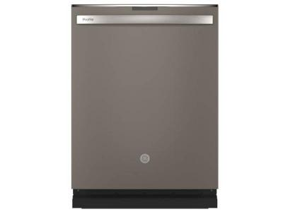 """24"""" GE Profile Stainless Steel Interior Dishwasher with Hidden Controls - PDT715SMNES"""