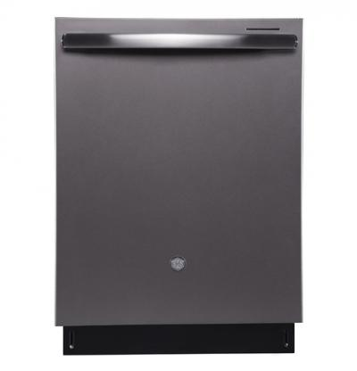 """24"""" GE Profile Built-In Tall Tub Dishwasher with Stainless Steel Tub - PBT650SMLES"""