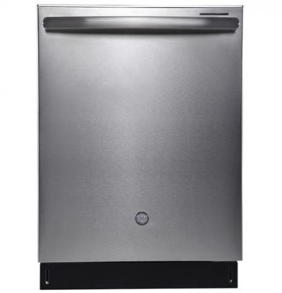 """24"""" GE Profile Built-In Tall Tub Dishwasher with Stainless Steel Tub - PBT650SSLSS"""