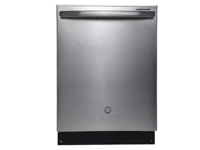 """24"""" GE Profile Built-In Tall Tub Dishwasher with Stainless Steel Tub - PBT660SSLSS"""