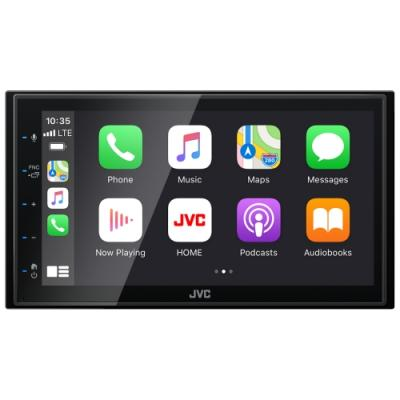 JVC Digital Media Receiver With 6.8 Inch Capacitive Touch Monitor - KW-M560BT