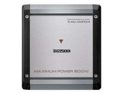 Kenwood Class D 4-Channel Power Amplifier - KACD3104