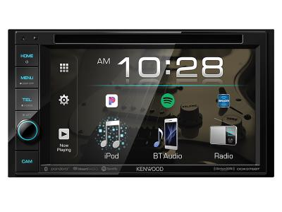 "6.2"" Kenwood  DVD Receiver with Bluetooth - DDX376BT"