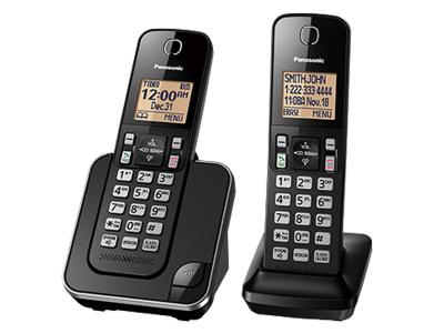 Panasonic Digital Cordless Phone System - KXTGC382B