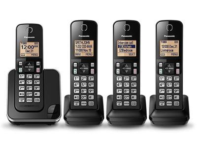 Panasonic Digital Cordless Phone System - KXTGC384B