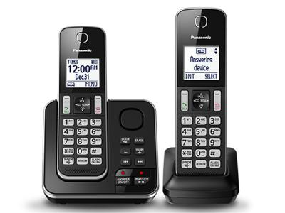Panasonic Digital Cordless Answering System - KXTGD392B