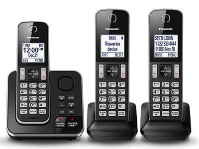Panasonic Digital Cordless Answering System - KXTGD393B