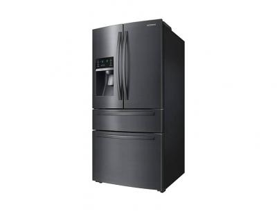 "33"" Samsung French Door Refrigerator with Door Ice Dispenser - RF25HMIDBSG"