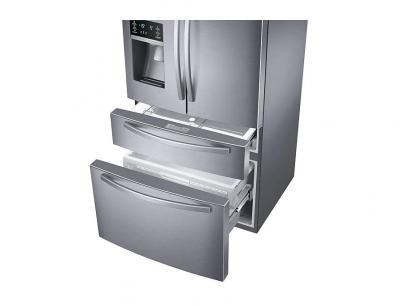 "33"" Samsung French Door Refrigerator  with Door Ice Dispenser - RF25HMIDBSR"