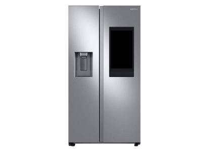"36"" Samsung 21.5 Cu. Ft. side by Side Door Family Hub Refrigerator - RS22T5561SR"