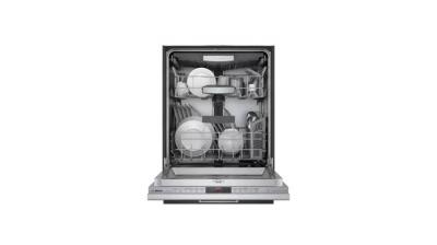 """24"""" Bosch 800 Series Top Control Built-In Dishwasher with Stainless Steel Tub - SHVM78Z53N"""