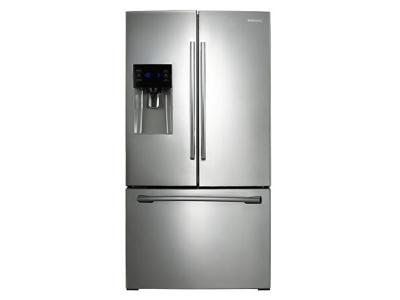 "36"" Samsung  25.6 cu.ft 3-Door French Door Refrigerator (Stainless Steel) - RF263BEAESR"