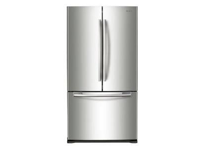 "33"" Samsung  Counter Depth French Door Refrigerator - RF18HFENBSR"