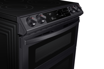 Samsung Ne63t8751sg 30 6 3 Cu Ft Electric Range With Flex Duo And