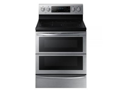 """30"""" Samsung Single Oven Electric Range in Stainless Steel - NE59T7851WS"""