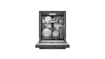 """24"""" Bosch 800 Series Top Control Built-In Dishwasher with Stainless Steel Tub  - SHPM78Z54N"""