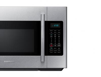 30 samsung over the range microwave with simple clean filter 1 8 cu ft me18h704sfs