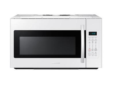 """30"""" Samsung 1.8 cu.ft Over the Range Microwave (White) - ME18H704SFW"""