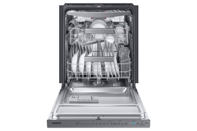 """24"""" Samsung Built-in Undercounter Dishwasher In Stainless Steel - DW80R9950US"""