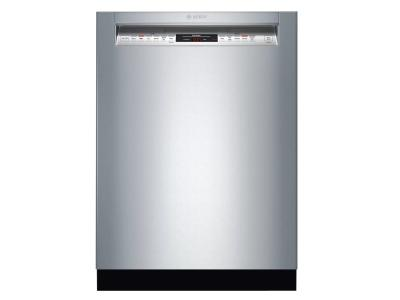 "24"" Bosch 800 Series Front Control Dishwasher In Stainless Steel - SHEM78Z55N"