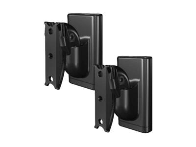 Sanus Universal Speaker Wall Mounts For Wireless Speakers And Other Speakers - WSWMU2-B2
