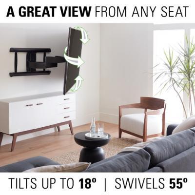 """Sanus Advanced Full-Motion Premium TV Mount for 46"""" to 95"""" TVs - VXF730-B2"""