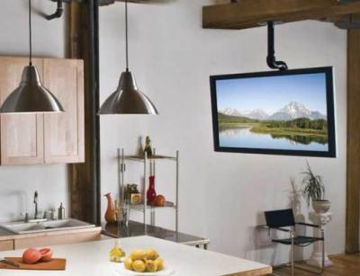 """Sanus TV Ceiling Mount For 37""""-70"""" TVs With Smooth Tilt & Swivel - LC1A-B3"""