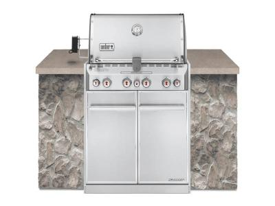 """34"""" Weber Summit S-460 Built-In Natural Gas Grill - Summit S-460 NG"""