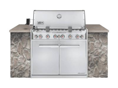 """42"""" Weber Summit S-660 Built In Natural Gas Grill - Summit S-660 NG"""